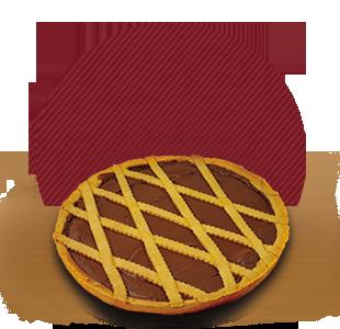 fornitura crostata gianduia