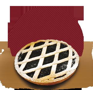 fornitura crostata visciole