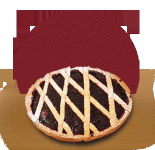fornitura crostata frutti di bosco