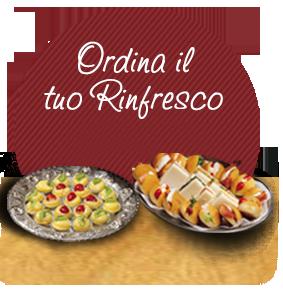 pasticceria e gastronomia per rinfreschi