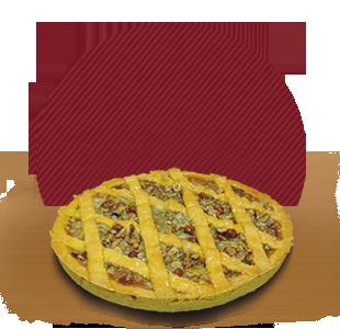 fornitura crostata albicocca e frutta secca